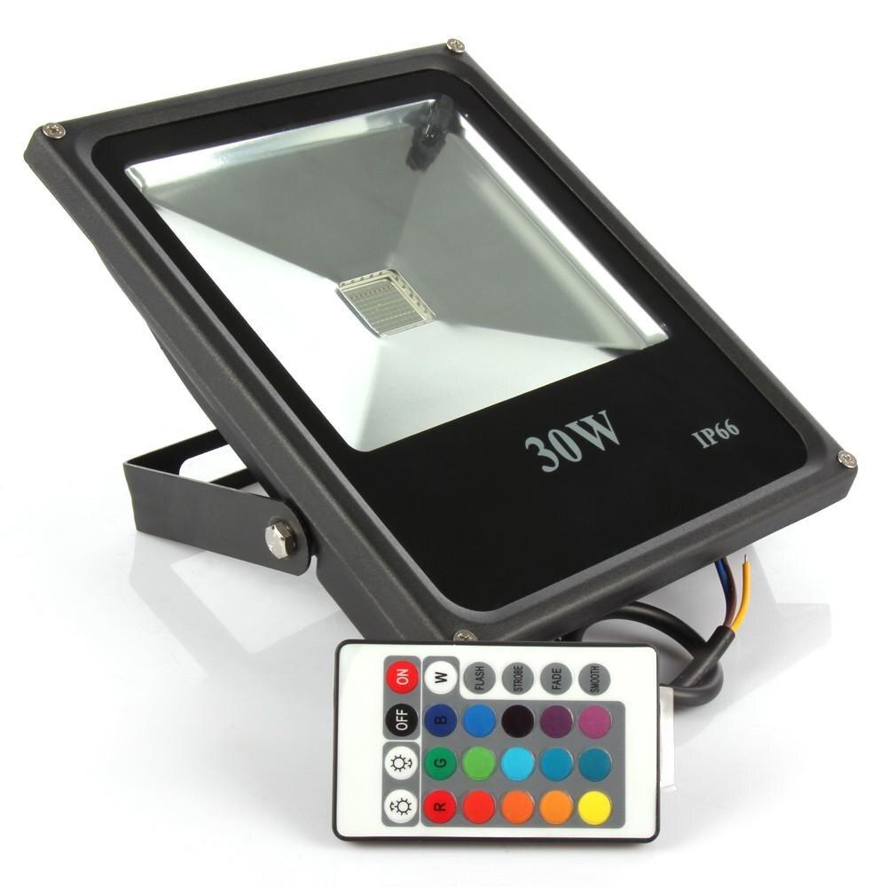 Foco LED RGB para Exterior, 10 Uds., 10W, 20W, 30W, 50W, RGB,...