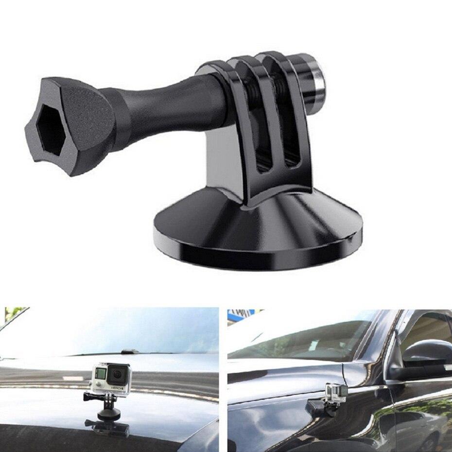 For Gopro Magnetic Magnet Metal Tripod Mount Adapter Camera Holder For Xiaomi Yi 4K for GoPro Hero 6 5 4 3 SJ4000 H9 Sport Cam
