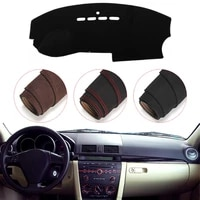 console dashboard suede mat protector sunshield cover fit for mazda3 m3 2004 2008