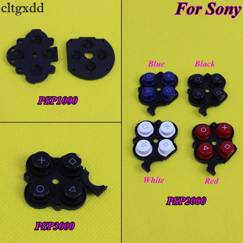 Cltgxdd Leitfähigen Rechte Taste Kunststoff Pads Für Sony PSP2000 3000, Silikonkautschuk Druckschalter Leitfähigen Unterlage für PSP 1000