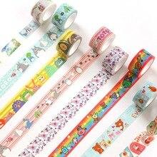 Drapeaux en papier ruban adhésif, Totoro large 2 Cm ruban adhésif de lavage bricolage Scrapbooking étiquette masque ruban artisanal fournitures pour les étudiants