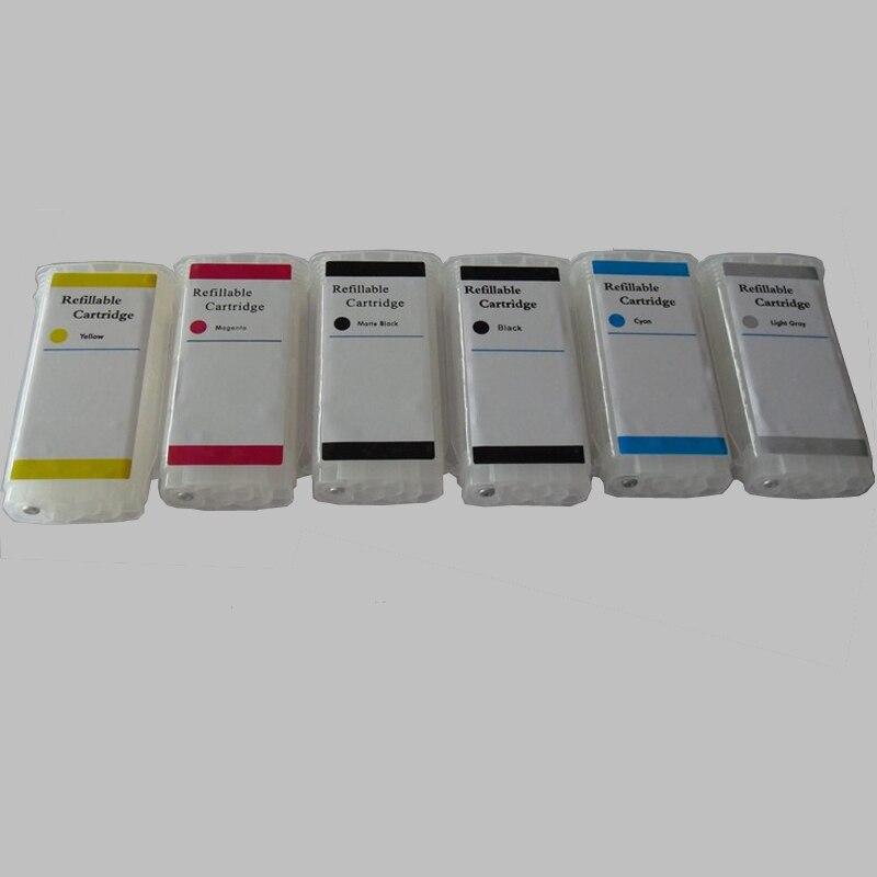 Substituição do Cartucho de Tinta Recarregáveis para hp 72 para Designjet Vilaxh T790 T1200 T1300 T2300 T7100 Printer 72 T1100 T610 T770