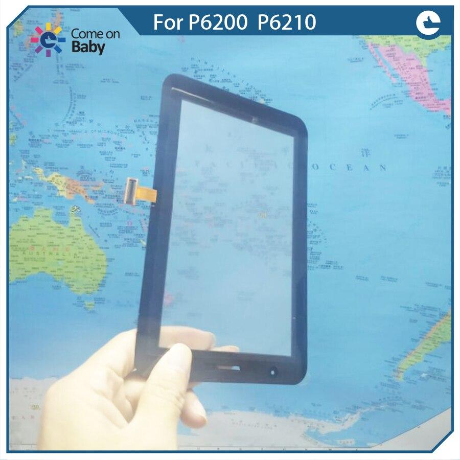 Buena calidad para Samsung Galaxy Tab 7,0 Plus P6200/P6210 Digitalizador de pantalla táctil sensores de lente de vidrio