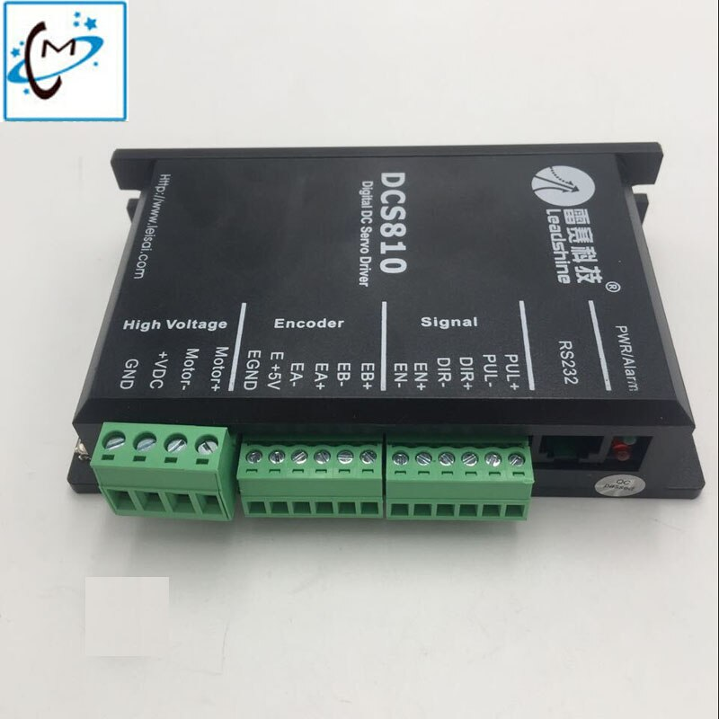 DCS810 controlador digital de leadshine dc servocontrolador para mi jet gongzheng GZ Thunderjet JHF Vista impresora de inyección de tinta