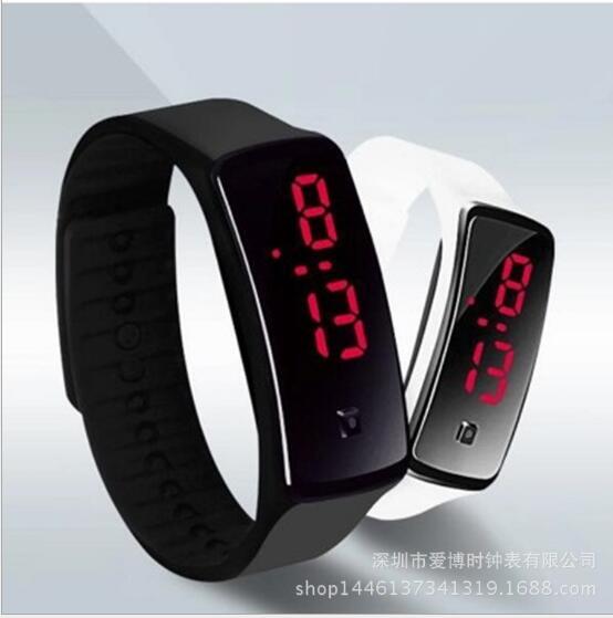 2017 silicone led esportes relógios das mulheres dos homens vestido crianças eletrônico led relógio digital homem senhoras de manhã correndo esporte