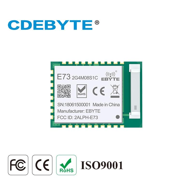 E73-2G4M08S1C nRF52840 BLE 5.0 Wireless Transceiver 8dbm 120m 2.4GHz Ceramic Antenna 2.4 ghz Bluetooth 4.2 RF Module