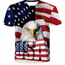 Newest Eagle T Shirt Men 3d Tshirt Printed American USA Eagle Casual Short Sleeve T shirts Summer Tops Cool Tees Fashion Clothes