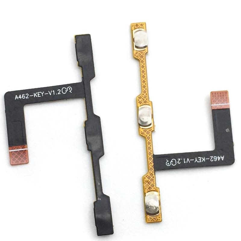 Botón de volumen de encendido, Cable de cinta flexible para ZTE Blade A462 A310, piezas de repuesto