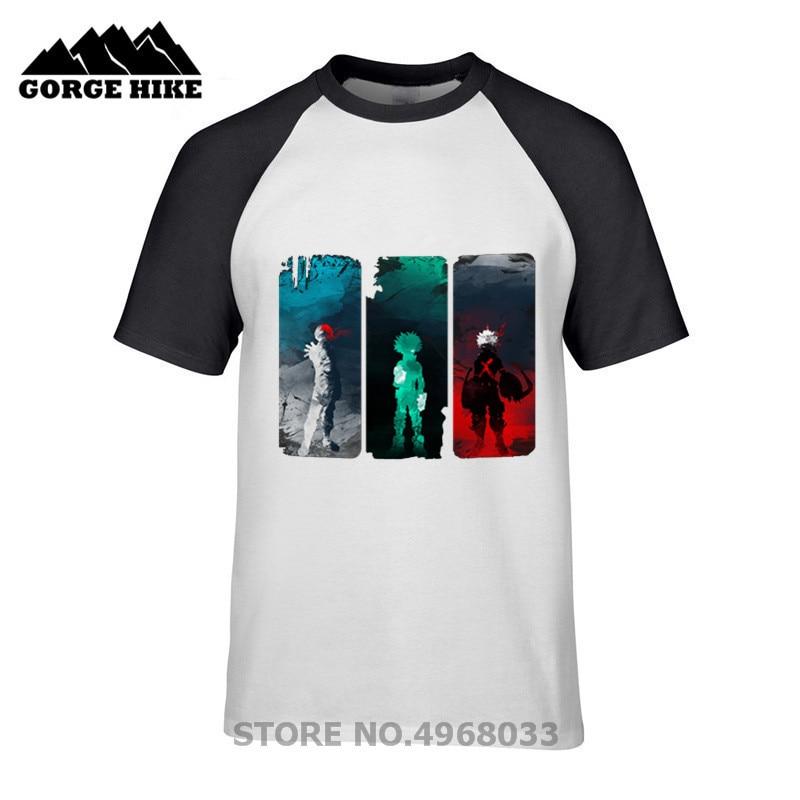 Descuentos baratos camiseta My Friend BOKU no Hero Funny Academia tapices Whats your power camiseta 3D estampado 100% algodón Slim Fit
