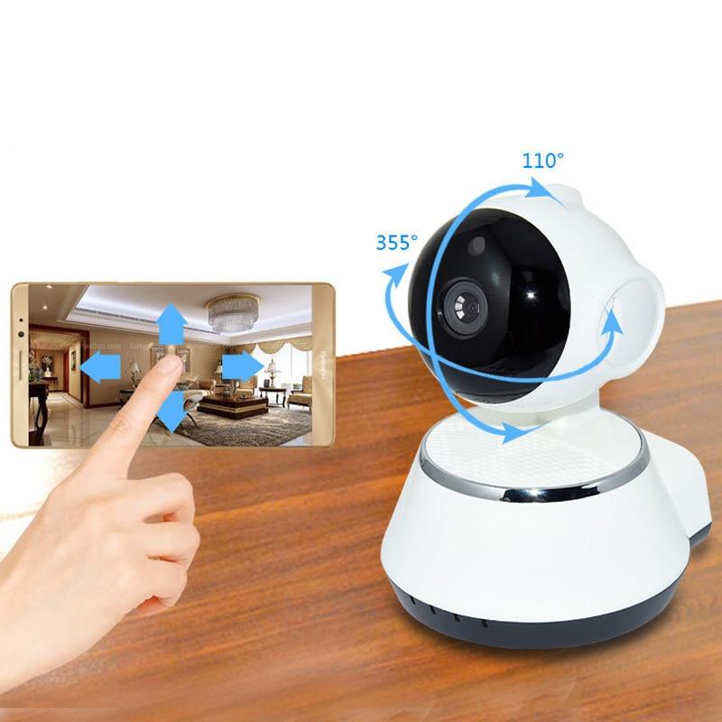 V380 HD 720P كاميرا IP صغيرة واي فاي اللاسلكية P2P الأمن كاميرا مراقبة للرؤية الليلية IR مراقبة الطفل تنبيه كاشف الحركة