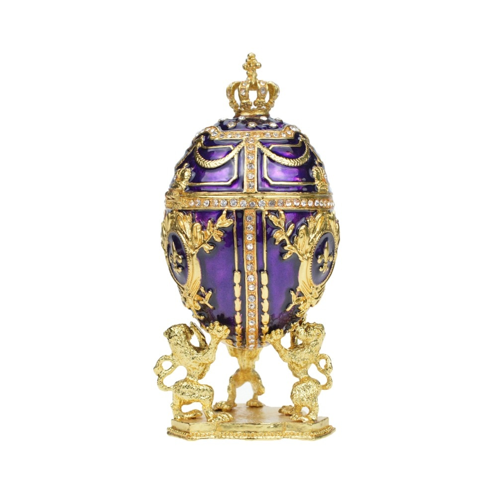FLETCHER-Collection de pièces de monnaie   Magnifique pour la russie, œufs Faberage