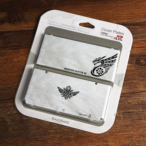 Защитный чехол для консоли Kacosata MH4, чехол для Monster Hunter 4G, чехол для Nintendo NEW 3DS, пластиковый корпус