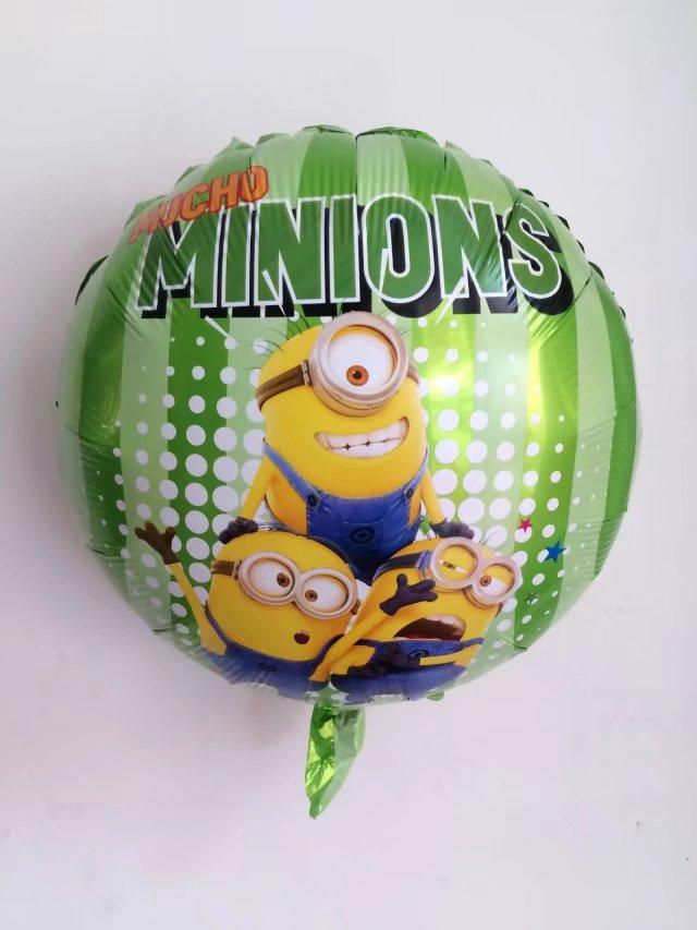50 stks/partij Nieuwe Minions Ballonnen Cartoon bal Klassieke Speelgoed Kerst Verjaardag Bruiloft Decoratie Party opblaasbare lucht ballonnen