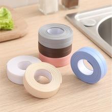 3.2M Kitchen Sink Waterproof Mold Strong Self-Adhesive Tape Anti-moisture PVC Wall Sticker Bathroom Line Corner Sink Stickers