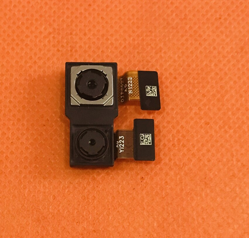 Foto original voltar câmera traseira 8.0mp + 16.0mp módulo para umidigi z2 helio p23 octa núcleo frete grátis
