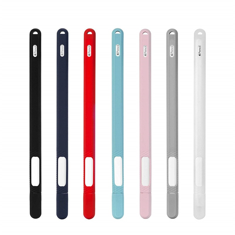 Case para Apple Pele de Borracha Capa para Ipencil2 Silicone Titular Pencil Generation Luz Ipencil 2 Luva Ipad Pro 2021 2nd
