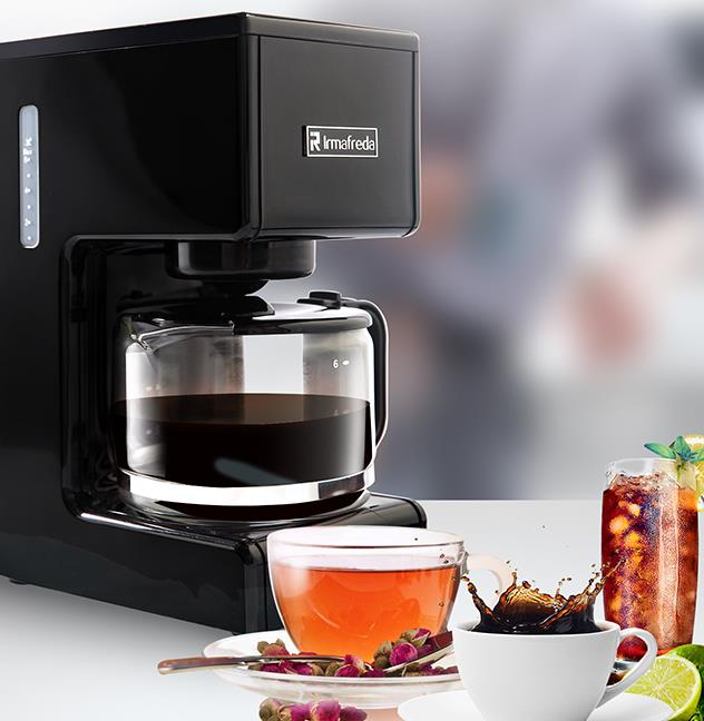 aldxc32 me 710 miynon automatic coffee grinding machine 2014 me 710 medium black Espresso Machine Intelligent Coffee Maker Fully Automatic American Style Coffee Machine Drip Type Small Is Grinding Teapot