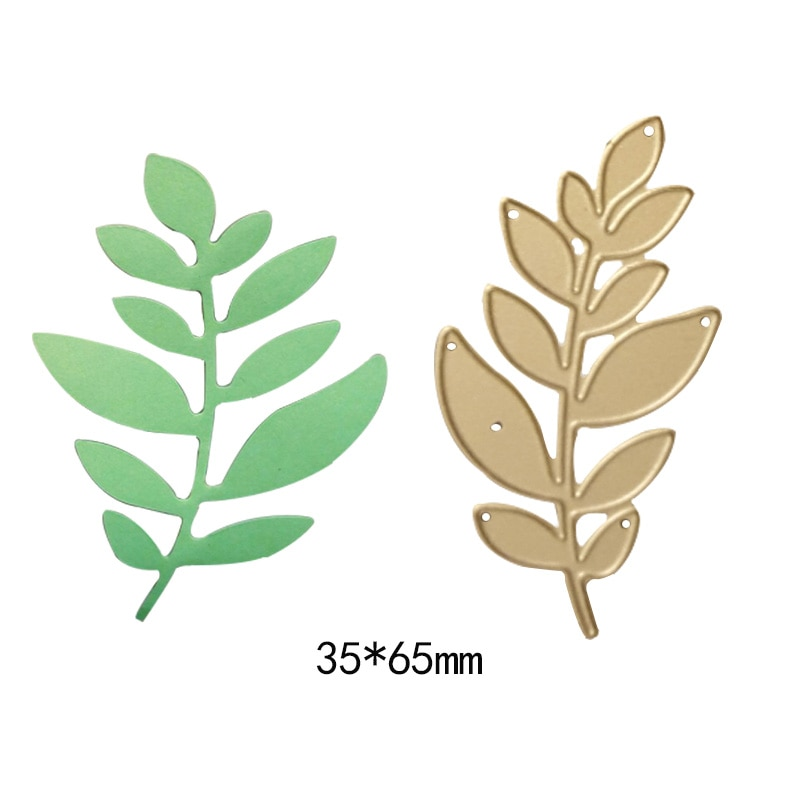 Natural plant tree leaves metal cutting dies Scrapbooking Stencil Craft die cut paper card Embossing DIY new 2018