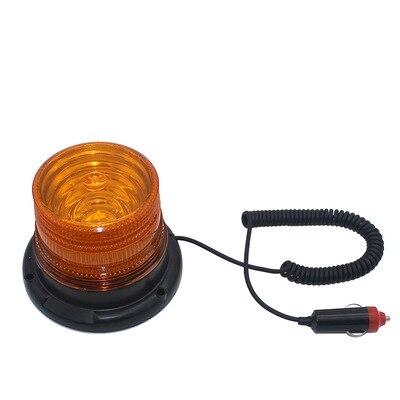 12 В-24 В светодиодный фонарь, автомобильный Грузовик, магнитный предупредительный сигнал, маячок, стробоскоп, аварийная лампа, синий, желтый, ...