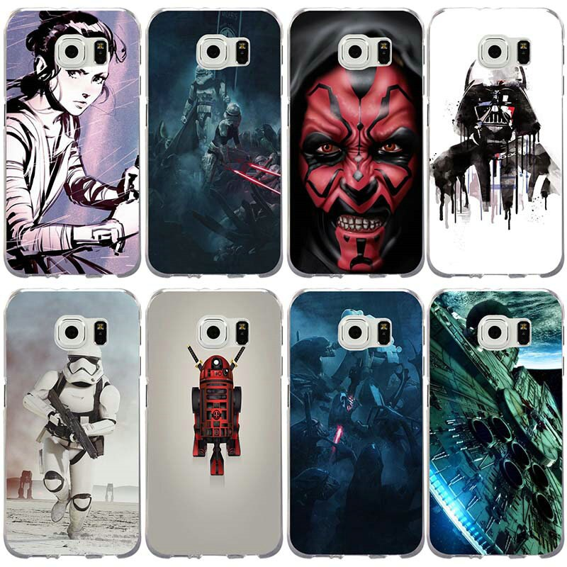 Film Star Wars Stormtroopers Telefon Cases Schlank TPU für Samsung Galaxy Note 3 4 5 8 S3 S4 S5 Mini s6 S7 S8 S9 S10 Lite Rand Plus