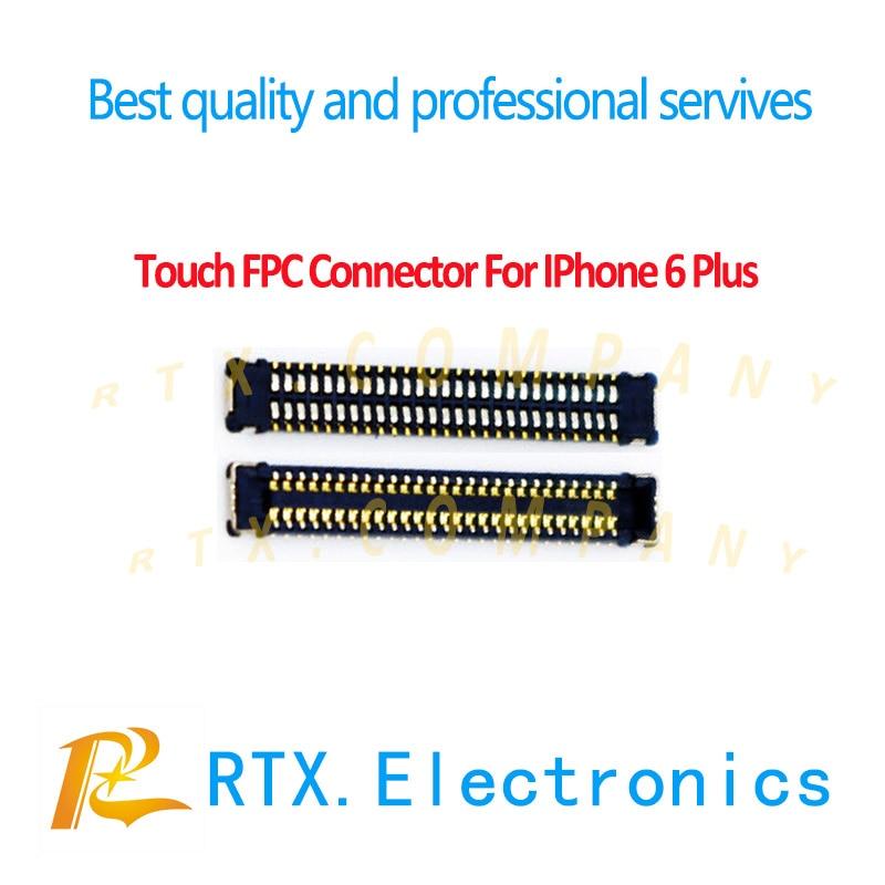 Para IPhone 6 6Plus 6s 6sp 7 7P 8 8plus X pantalla LCD digitalizador pantalla & táctil FPC Puerto conector enchufe en reemplazo de cable flexible