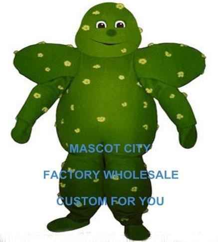 Disfraz de Mascota de Cactus espinoso hecho a medida, traje de Mascota de Cactus de planta del desierto de tamaño adulto, traje de Mascota de Cactus SW1166