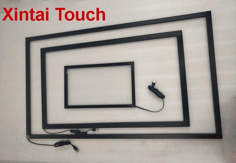 شحن مجاني! Xintai-إطار يعمل بالأشعة تحت الحمراء متعدد اللمس مقاس 17 بوصة ، 10 نقاط ، لوحة شاشة تعمل باللمس للكمبيوتر الشخصي