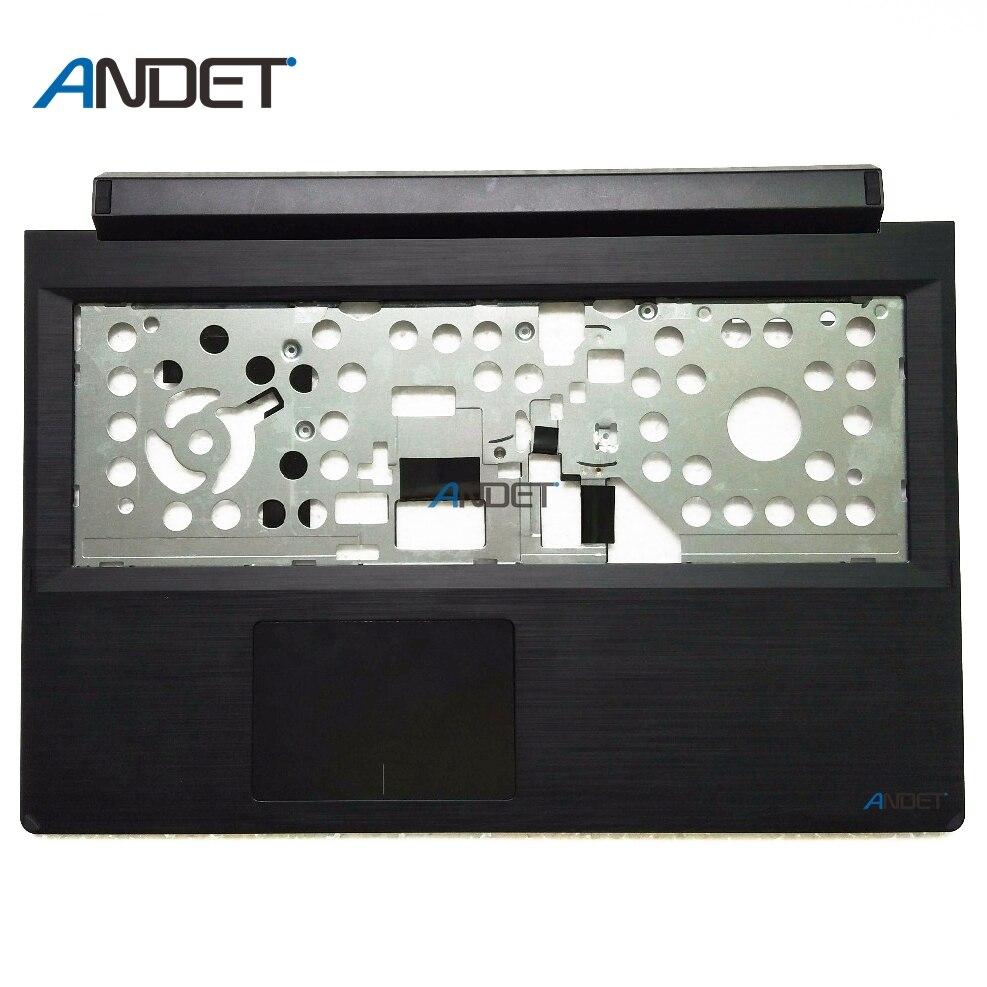 Nuevo Original para Lenovo Flex 2 15 Palmrest cubierta superior teclado bisel negro Touchpad 46000Z0X000A 5CB0F76796