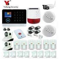 YobangSecurity     systeme dalarme de securite domestique sans fil  wi-fi  SMS  3G  controle par application  camera IP  capteur anti-cambriolage
