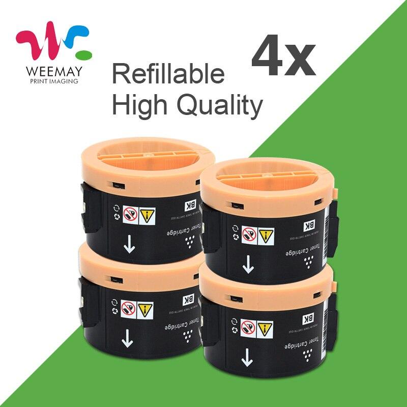 4 шт. 3010 черный полный тонер-картридж совместимый для принтера Xerox Phaser 3010 3040 3045 с защитой окружающей среды 106R02183