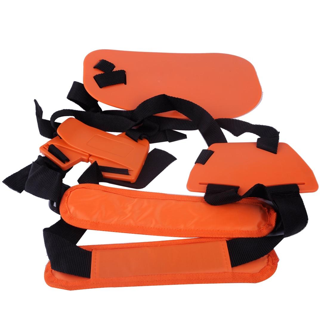 LETAOSK New Orange Double Shoulder Strap Harness Lawn Mower Garden Power Pruner Padded for Stihl Brush Cutter Trimmer FS56 FS550