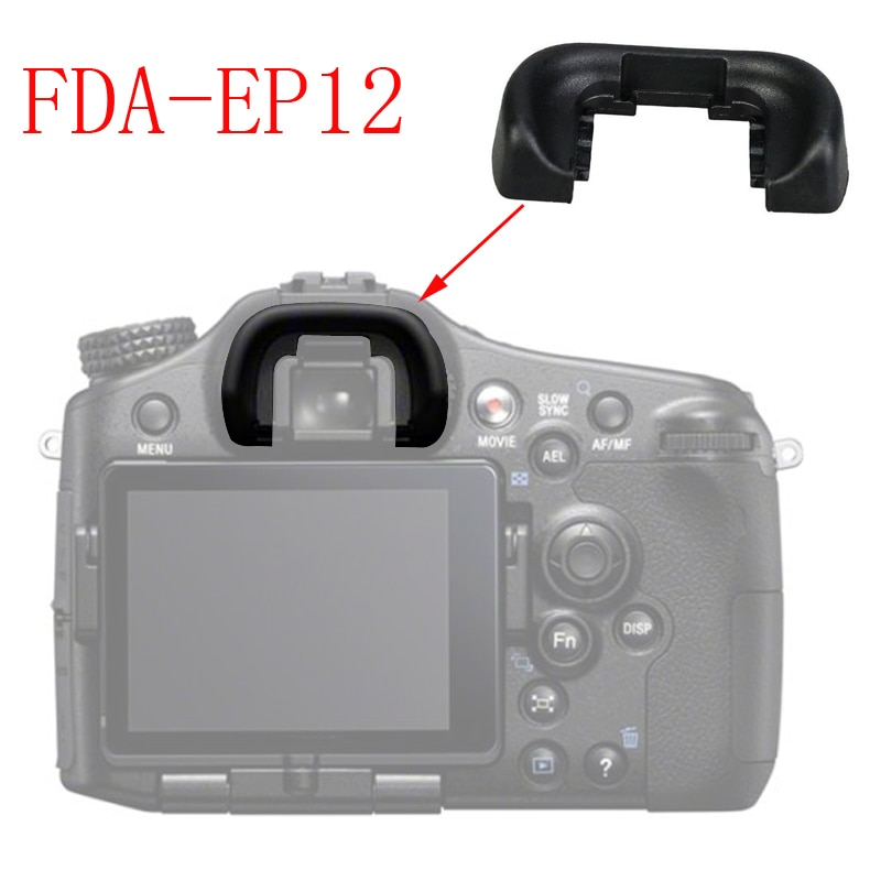 Ocular do Visor Capa para Sony Lote Ocular A33 A55 A57 A58 A65 A77 Câmera 100 Pçs – Fda-ep12