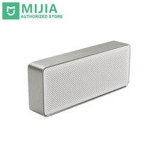 Original Xiaomi haut-parleur boîte à crayons Xiaomi Bluetooth 4.2 haut-parleur 2 carré stéréo HD qualité sonore Portable Bluetooth sans fil