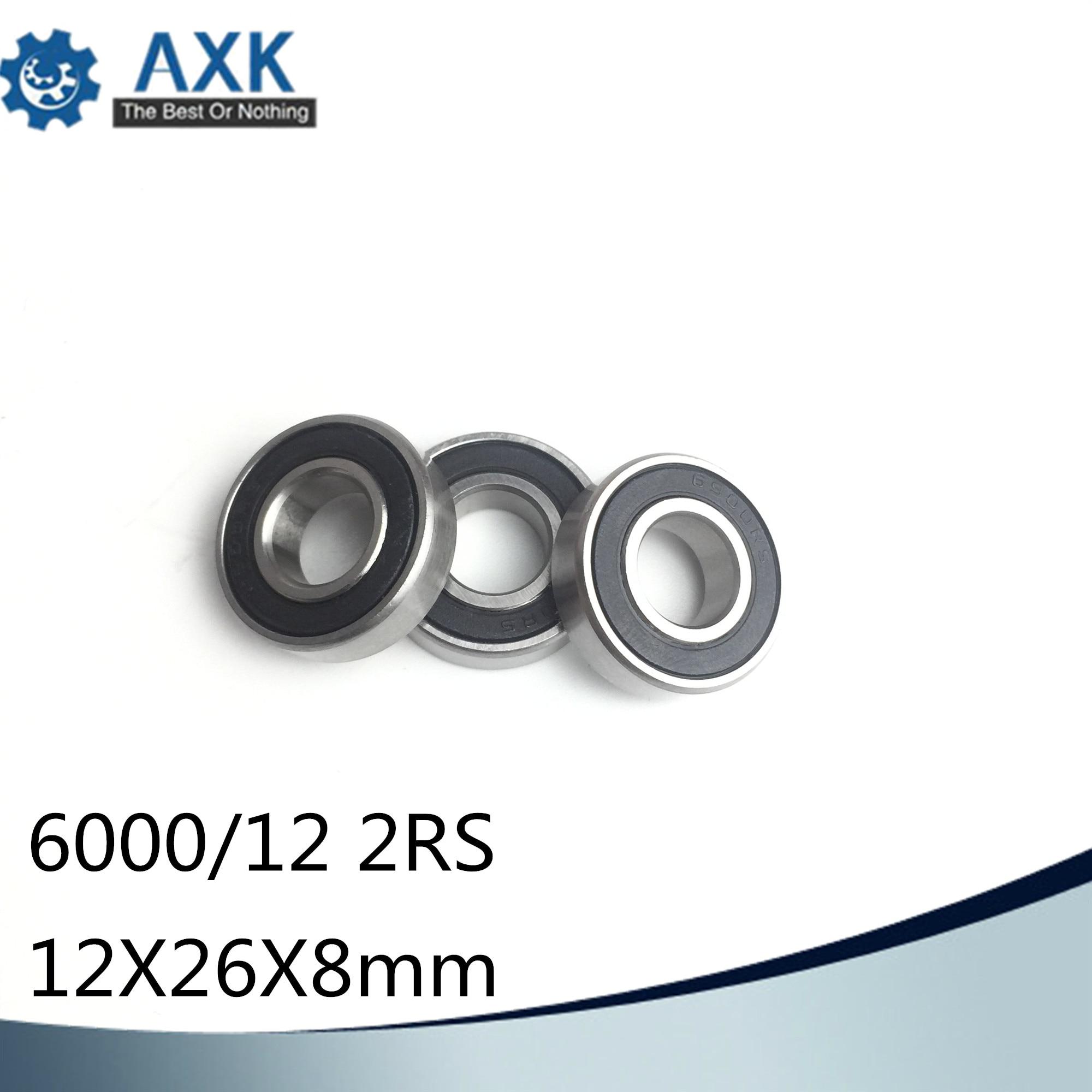 6000/12 2RS Non-standard 12268 Ball Bearings 12*26*8 mm ABEC-1 ( 2 Pcs ) Bearing