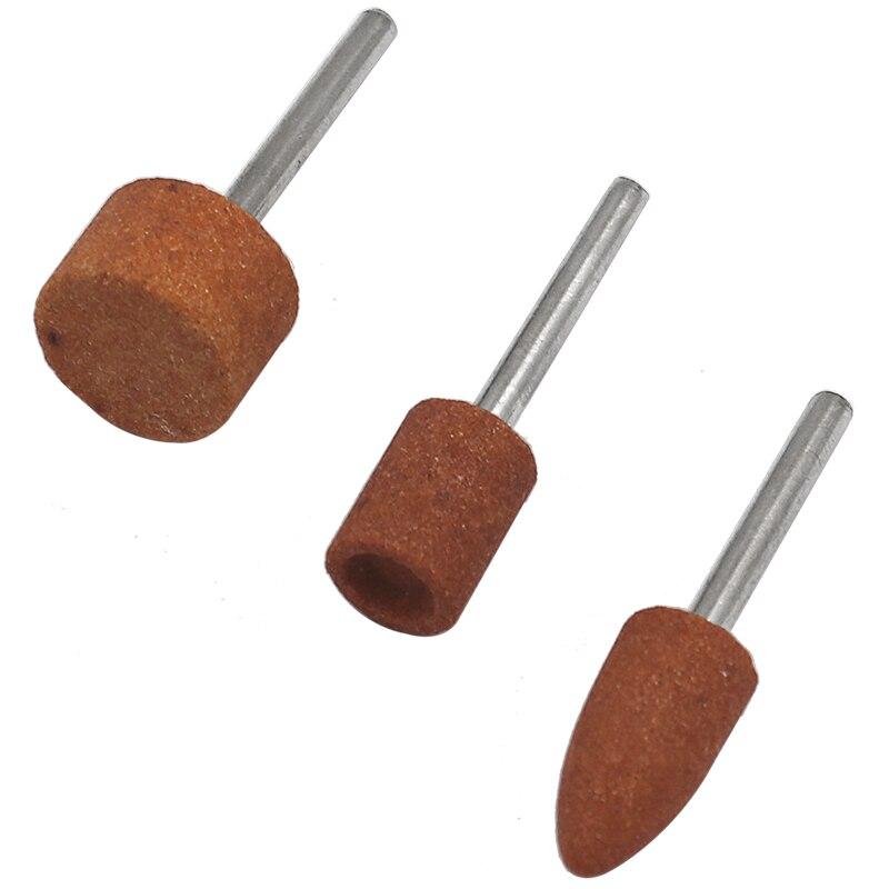7 pezzi / set pietra abrasiva montata per utensili rotanti Dremel, - Utensili abrasivi - Fotografia 3