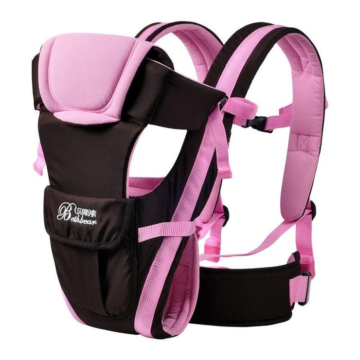 Рюкзак-кенгуру для детей 2-30 месяцев, эргономичный дышащий горизонтальный Рюкзак-кенгуру для младенцев