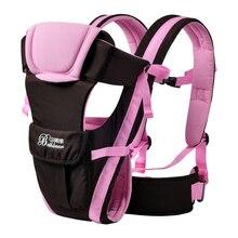 Porte-bébé sac à dos 2-30 mois porte-bébé fronde ergonomique respirant face avant Horizontal bébé kangourou sac écharpe pour bébé