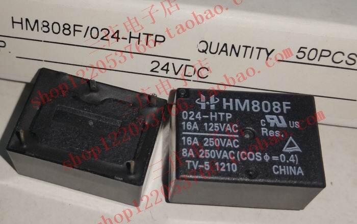 Relé HM808F 024-HTP 7520-1A-24V-16A