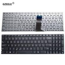 GZEELE EUA Para ASUS X551 R513C X551C X551CA Substituir laptop Novo teclado Preto Inglês preto sem quadro venda Quente por atacado!