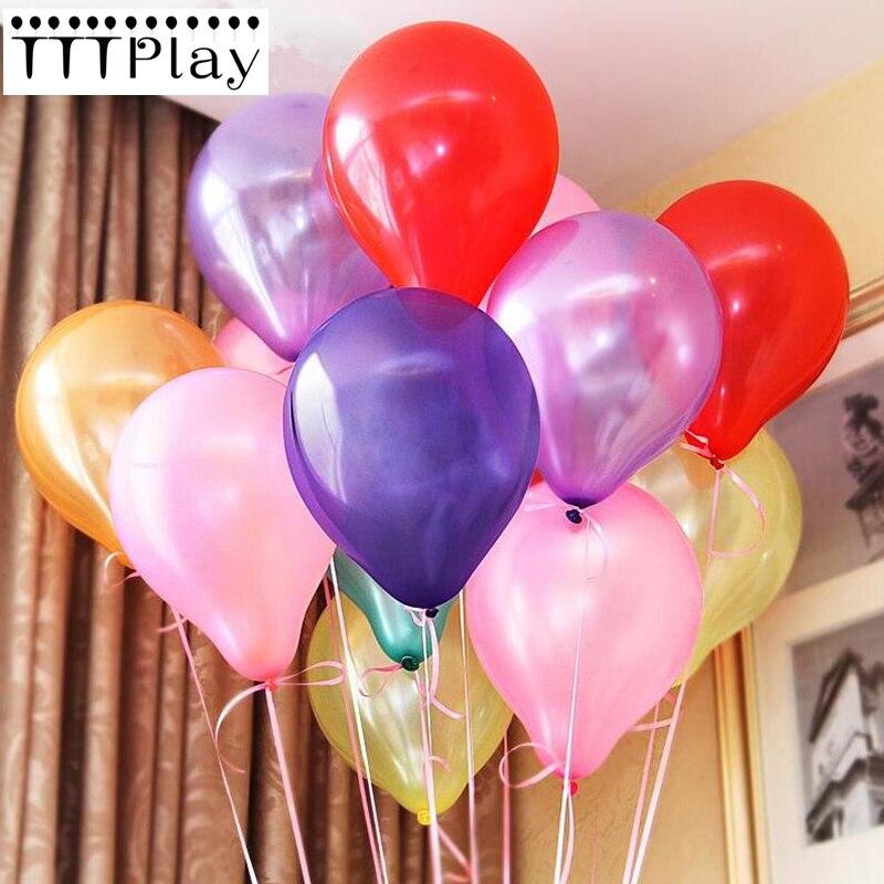 10 unids/lote de Globos de látex de 12 pulgadas y 2,8g, Globos naranjas para fiestas, Globos inflables, suministros para decoración de bodas, suministros para fiesta de cumpleaños