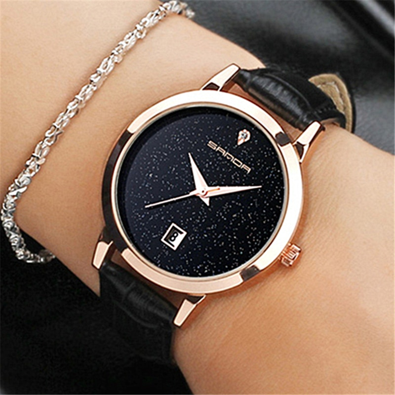 SANDA 2018 Fashion Watches Women Watches Ladies Luxury Brand Quartz Watch Women Clock Relogio Feminino Montre Femme reloj hombre luxury women watches diamond ladies watch casual quartz wristwatch for women clock relogio feminino montre femme