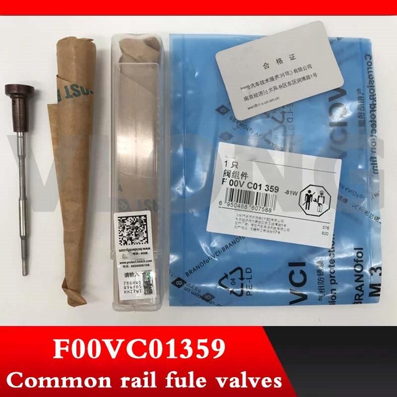 Conjunto de válvula de control de carril común original y genuino F 00 V C01 359 F00VC01359 F OOV C01 359 para 0445110623