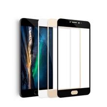 full cover tempered glass Original screen film full coverage protection FOR MEIZU m5 pro 5 6 plus Note 3 5 MX6 U20 U10 mobile