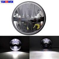 7 Inch Round Led Headlamp with Hi/Lo Beam Head Lamp For Yamaha Road Star 1700 Midnight Motorcycles Headlight