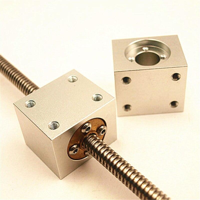 Funssor T8 Trapez Blei Schraube Mutter Gehäuse Halterung Für 3D Drucker Teile Reprap CNC