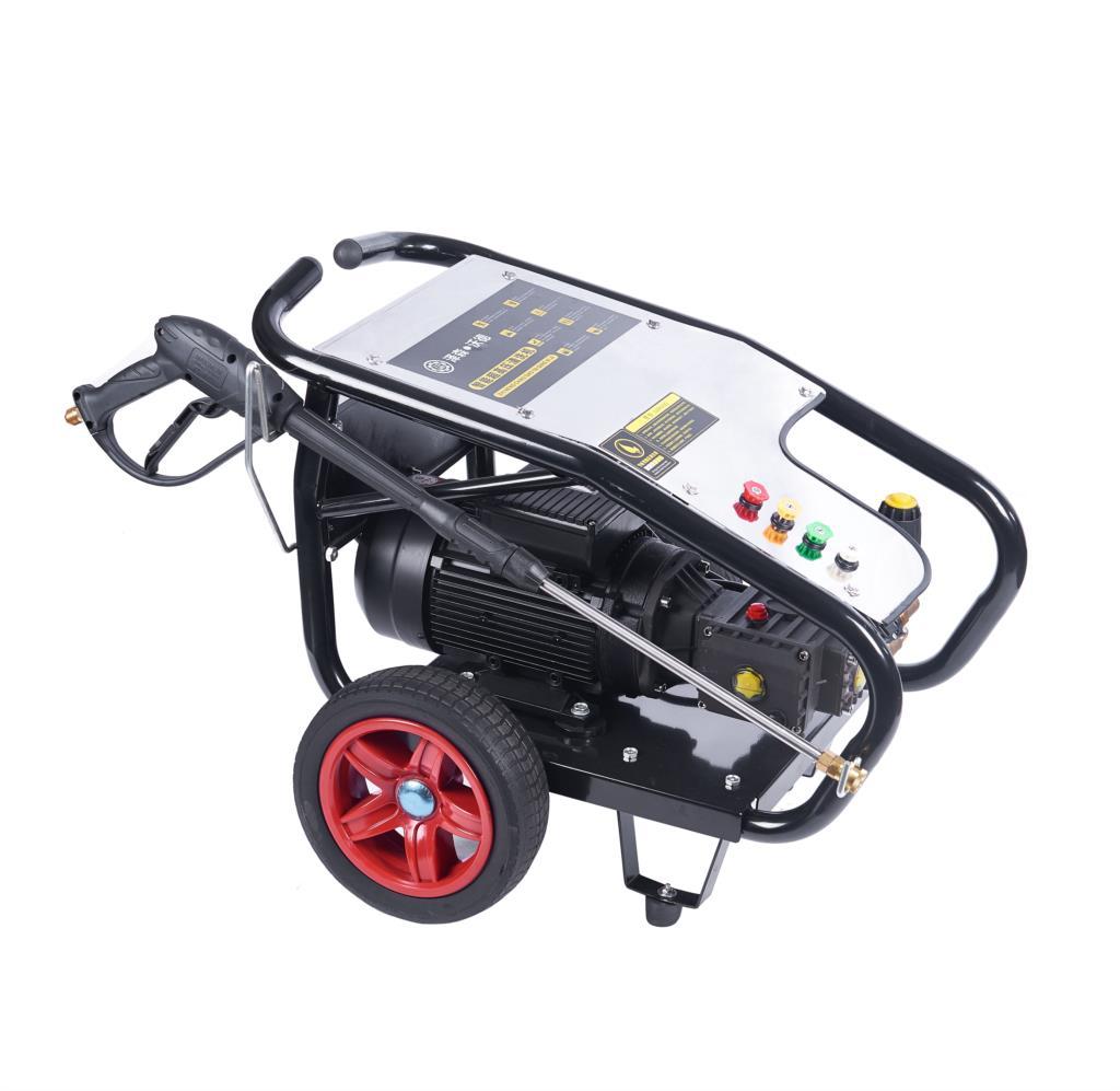220v Single Phase Electric 2.2kw100 Kg Pressure Car Wash Intelligent Ultra High Pressure Washing Machine Induction Motor Faucet enlarge