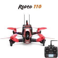Hot Walkera Rodeo 110 With Devo 7 Remote Control 600TVL Camera RC Racing Drone RC Quadcopter RTF
