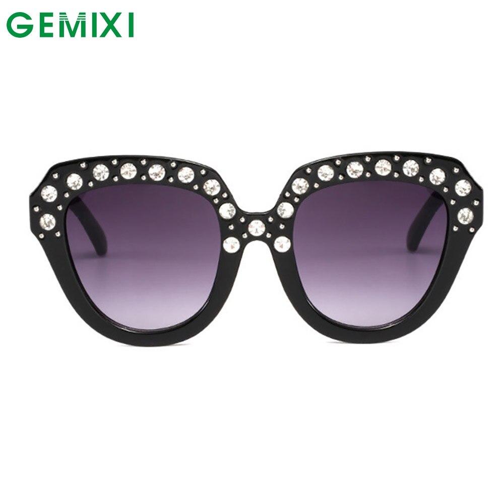 Gafas De Sol con diamantes Retro para mujer 2019 marcos cuadrados gafas De diseñador De marca Lentes De Sol Hombre gafas De Sol Vintage señoras 18Jan2