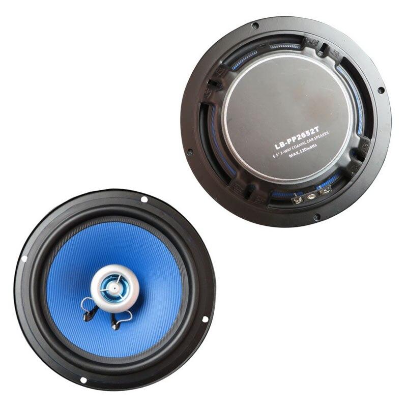 Altavoz para coche coaxial 2x5 pulgadas altavoz estéreo para coche universal para todos los coches con perfecto sonido 2 vías 2x120 W