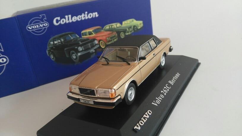 A LAS 143 VOL. 222c Bertone, coche de modelo de aleación, juguete de Metal fundido a presión, regalo de cumpleaños para niños